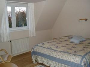 Soveværelse øverste etage bed and breakfast sønderborg